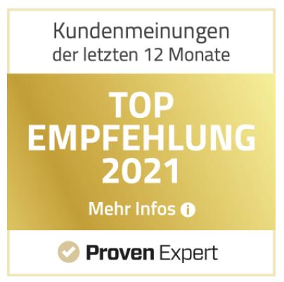 SCHULTZ IT-Marketing ist Top Empfehlung 2021
